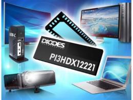 Diodes 公司的 HDMI 2.1 主动开关针对讯号完整性、功率及成本进行优化