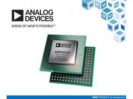 贸泽电子开售面向蜂窝基础设施应用的Analog Devices ADRV9026四通道宽带RF收发器
