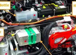 Model Y 的热泵系统中零件集成化