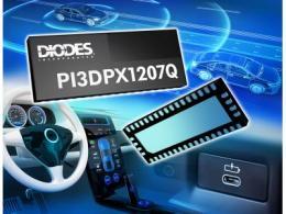 Diodes公司推出业界首创符合汽车规格的ReDriver可透过USB Type-C支持 DisplayPort