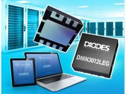 Diodes 公司的电源块 MOSFET 可提升功率转换器效率并节省 PCB 空间