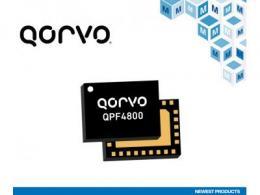 貿澤電子備貨Qorvo QPF4800雙頻Wi-Fi 6前端模塊