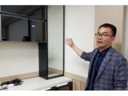韩Into See研发出内部透视显示面板智能门,无需开门即可查看内部状况
