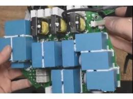 雷诺车载充电机前端模块拆解