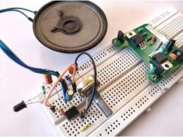 红外无线音频收发电路