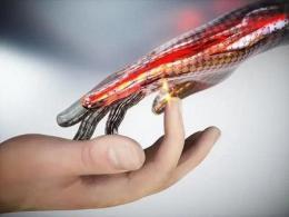 机器人也拥有人类皮肤?可感知疼痛并以神经信号传送大脑