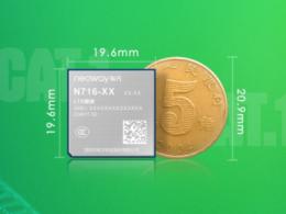 有方科技推业内最小尺寸Cat.1模块:基于紫光春藤8910DM芯片平台