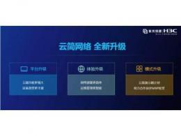 极致升级,新华三发布新一代云简网络解决方案