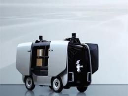 """阿里首款物流机器人亮相,取名""""小蛮驴""""定位使命必达暖萌属性"""