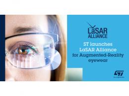 意法半导体发起LaSAR生态联盟,加快AR眼镜应用开发