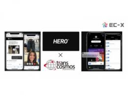 Transcosmos在日本获得独家权利,提供英雄,欧洲和美国的第一大在线虚拟购物解决方案