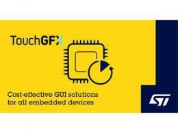 意法半导体推出新STM32 Nucleo Shield板卡并更新TouchGFX软件  简化超低功耗设备GUI设计