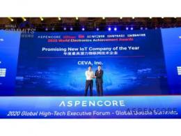 CEVA 凭借SenslinQ平台荣获  2020 ASPENCORE全球电子成就奖