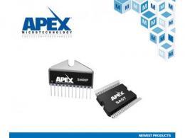 贸泽电子与Apex Microtechnology签署全球分销协议