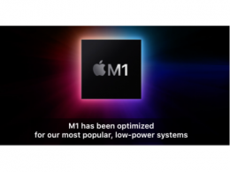 苹果自研Apple M1芯片正式发布,英特尔股价继续下探