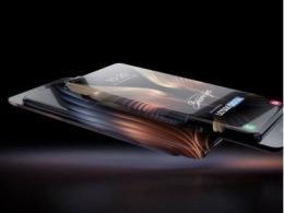 三星环绕屏手机设计专利公布,100%全面环绕屏?