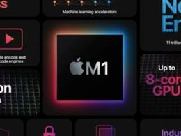 苹果 M1 跑分出炉!CPU 超前作,GPU 逼近独显水平,但都不是新 Mac 最大亮点