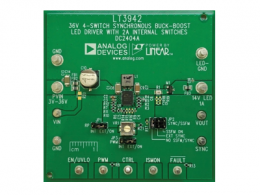 采用2 MHz单芯片降压-升压DC-DC转换器和LED驱动器消除PCB空间受限的困扰
