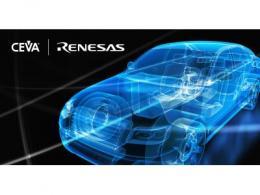 CEVA高性能DSP解决方案使能瑞萨电子下一代汽车SoC