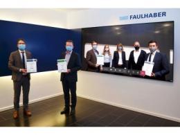 """奖项:FAULHABER 是海德堡印刷机械股份公司的首个""""最佳技术合伙人"""""""