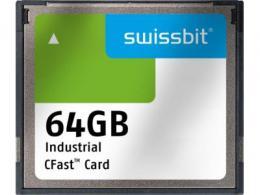 Swissbit公司推出cfAST™存储卡F-800,用于工业高端应用