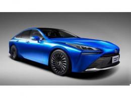 丰田发布新一代燃料电池车Mirai,续航里程提升30%