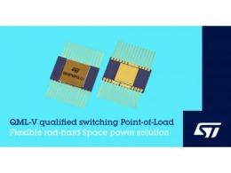 意法半导体航天级功率产品阵容新增高集成度可配置负载点功率变换器