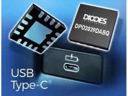 Diodes 公司推出符合汽车规格的 USB Type-C 端口保护装置,提供低插入损耗的过电压和短路保护功能