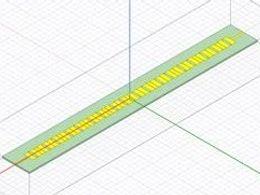应用案例:宽角度波束扫描复合左右手漏波天线仿真