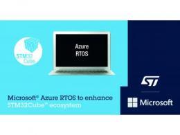 意法半导体与微软®携手合作 利用STM32Cube生态系统推进智能物联网设备开发