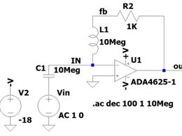放大器输出阻抗的参数计算与仿真