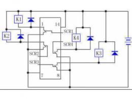 继电器控制电路