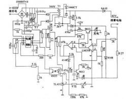 电瓶车充电器电路图