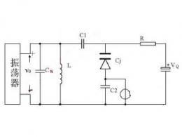 变容二极管调频电路图