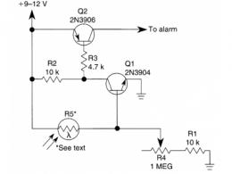 光电传感器电路图