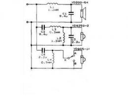 音箱分频器电路