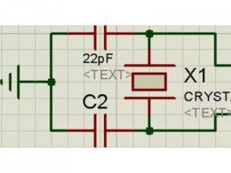 单片机晶振电路