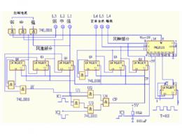电风扇电路图