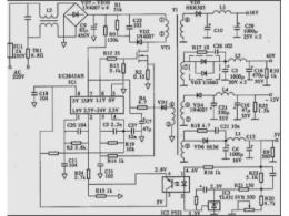 电脑电源电路图