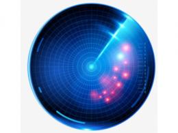 隐蔽圆锥扫描雷达