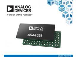 贸泽开售Analog Devices ADA4355 紧凑型高性能光电探测器接收器μModule