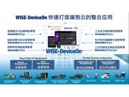 研华WISE-DeviceOn管理平台 为智能物联网应用提供远程设备运行和管理