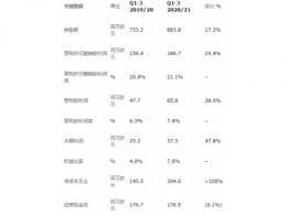 奥特斯2020/21第三季度报告