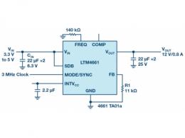 物联网系统需要高集成度和小尺寸功率转换器件