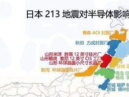 日本213地震对半导体有多大影响