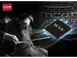 """适用于高音质音响设备的32位D/A转换器IC""""BD34301EKV"""" 开始全面销售"""
