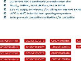 盘点国内RISC-V内核MCU厂商(超全版)