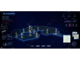 绿色城市之地下综合管廊3D可视化平台