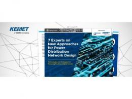 贸泽电子与KEMET携手发布全新电子书 介绍配电网设计新方法