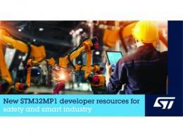 意法半导体扩展STM32MP1生态系统,提升设备安全性,促进AI和IoT应用开发